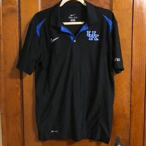 University of Kentucky Elite Nike dri-fit polo